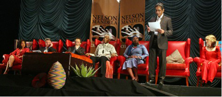 Nelson Mandela Foundation Chief Executive Achmat Dangor outlined the Foundation's plans to celebrate Nelson Mandela's 90th birthday