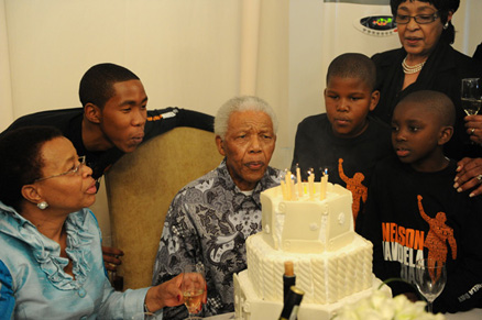 South Africa Celebrates Nelson Mandela's 93rd Birthday