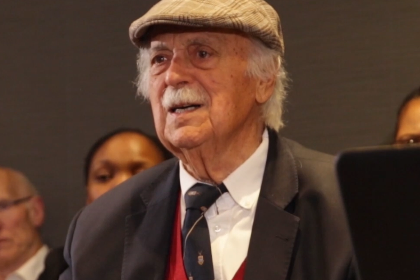 George Bizos at a Foundation dialogue on the Truth & Reconciliation Commission