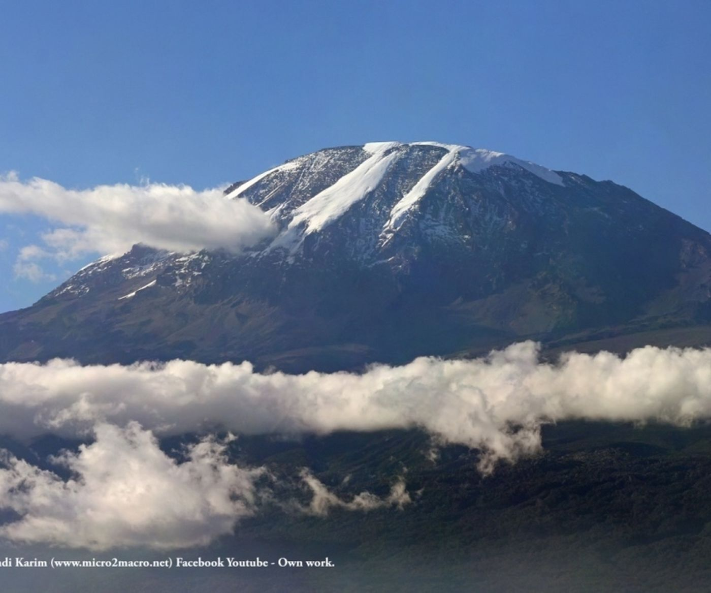 Mount Kilimanjaro WIKIMEDIA COMMONS