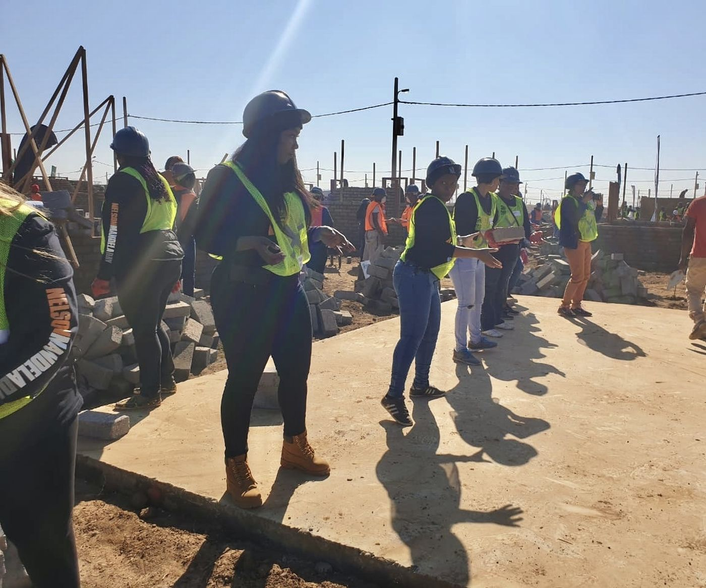 Mandela Day Palmridge House Build Main