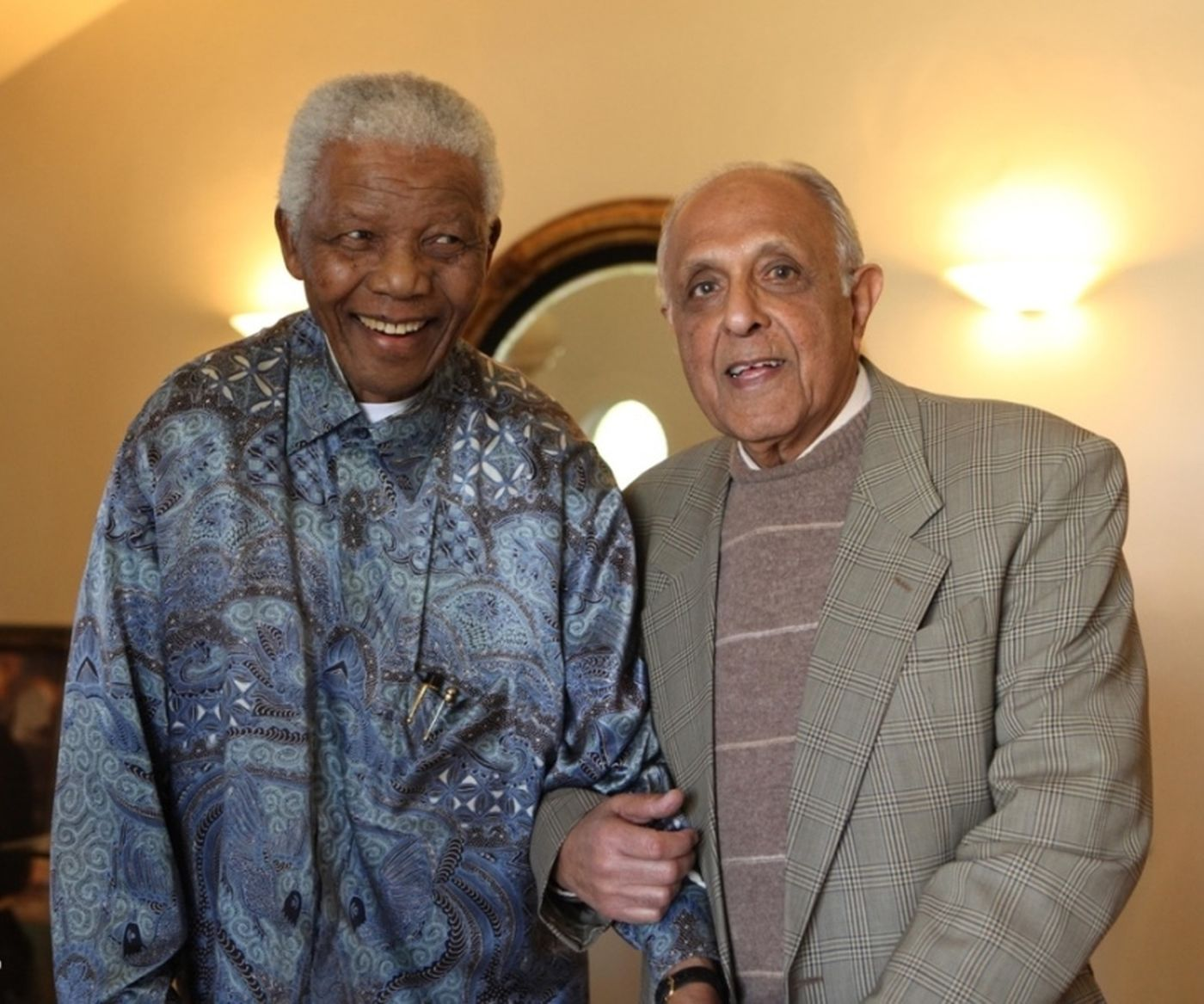 Madiba And Ahmed Kathrada
