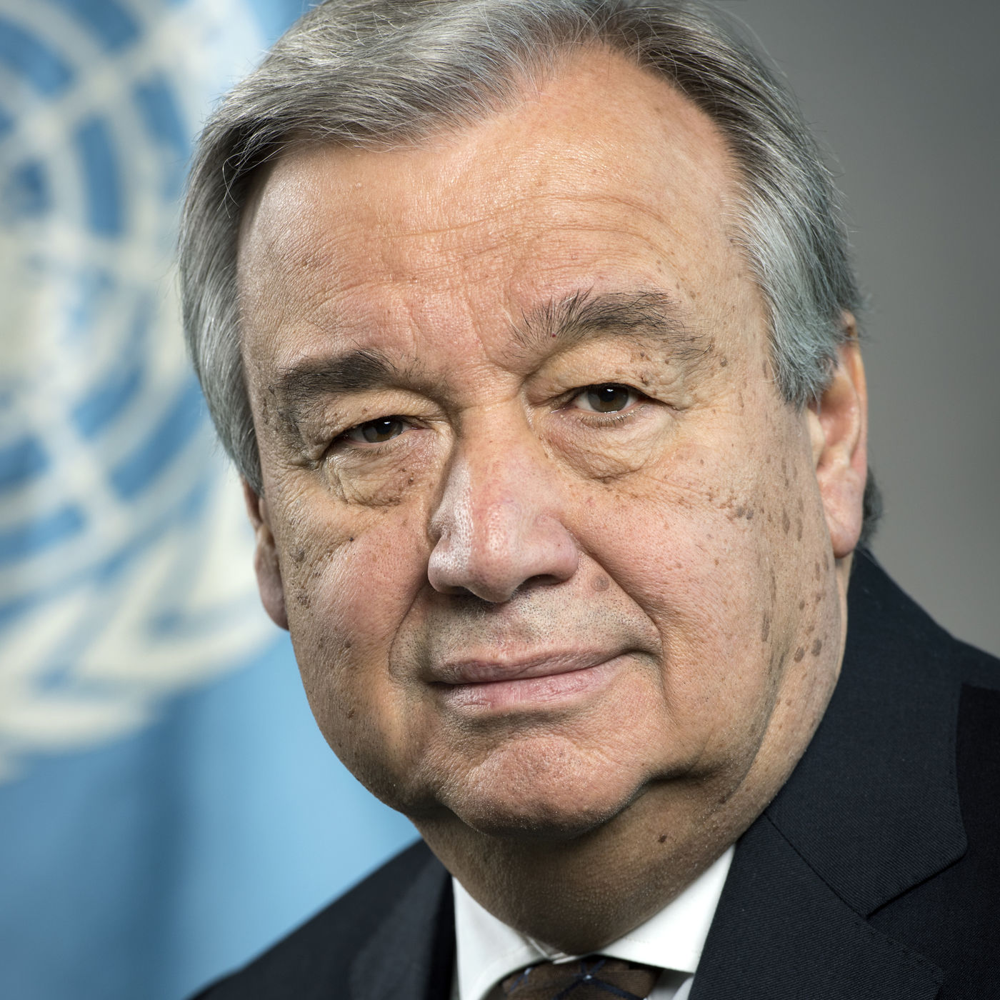 Sg Official Photo H E  Mr  António Guterres