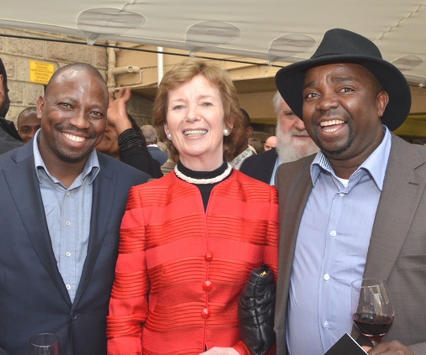Nmf With  Mary  Robinson 086 S 2