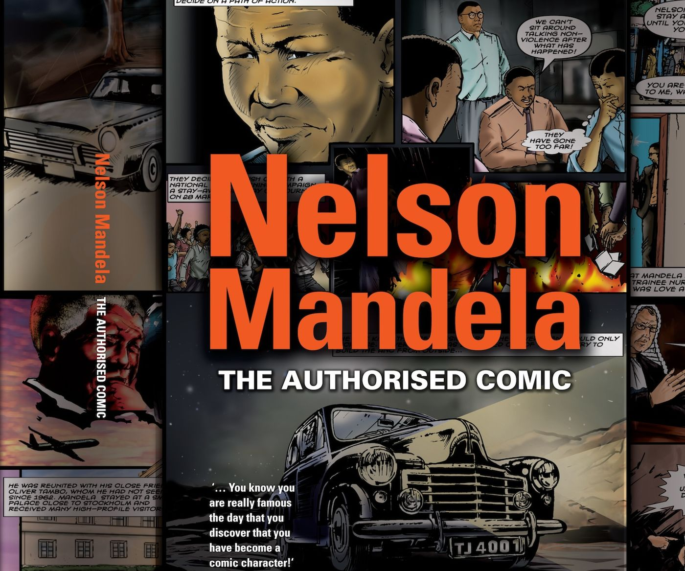 Nm  Authorised  Comic  Book  Front  Cover