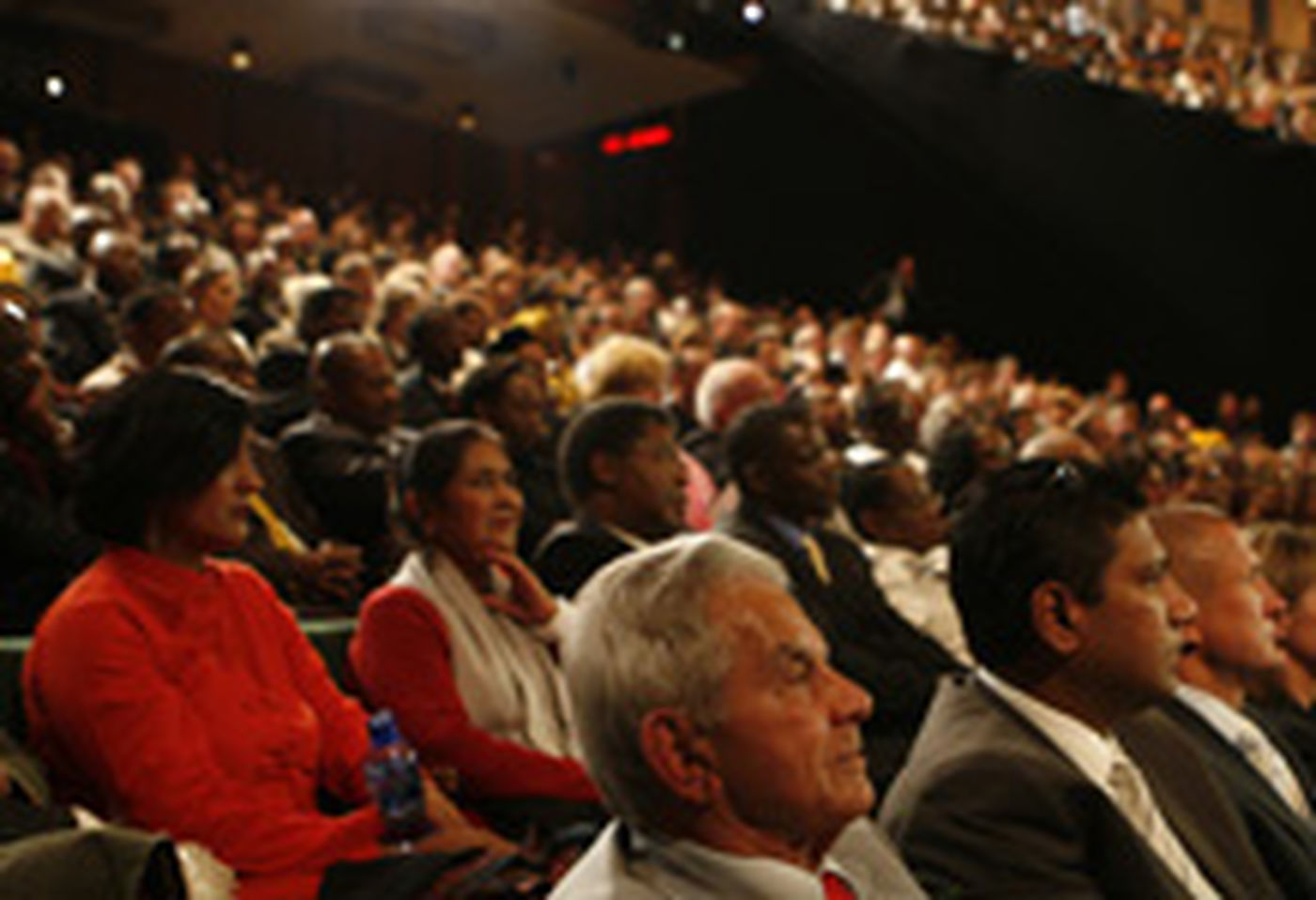 Audience at the 5th Nelson Mandela Annual Lecture
