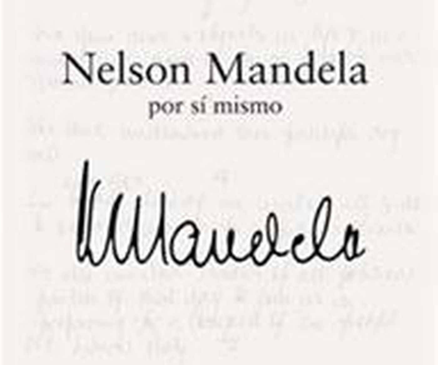 Mandela Book In Spanish