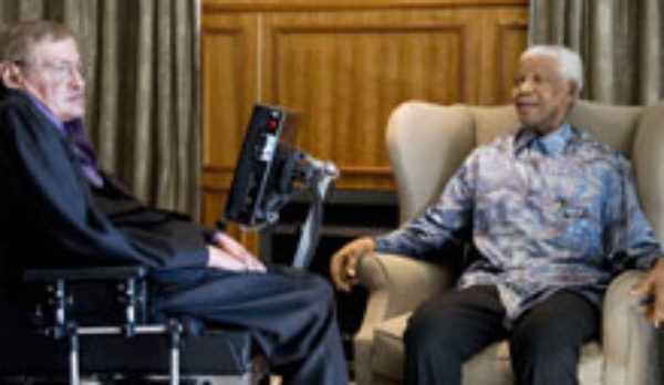 Image result for hawking mandela